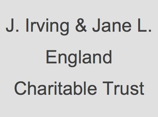 J. Irving & Jane L. England Charitable Trust